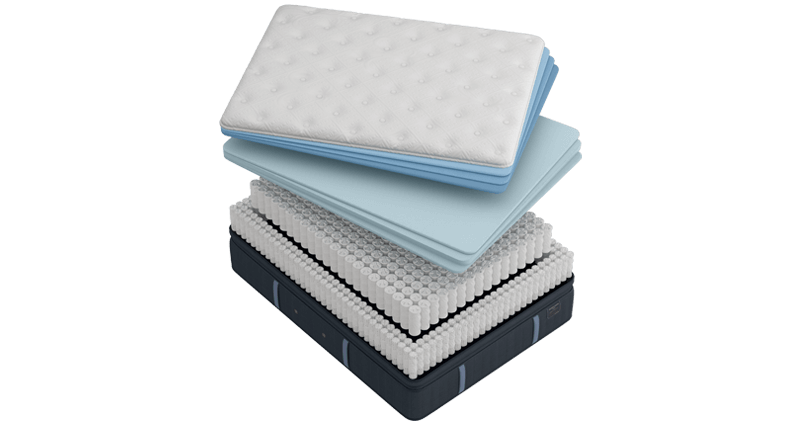 Stearns & Foster Mattress Illustration